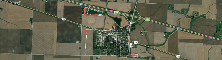 Mansfield Illinois Map
